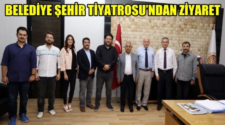 Afyon Belediye Şehir Tiyatrosu Zeybek'i ziyaret etti !!