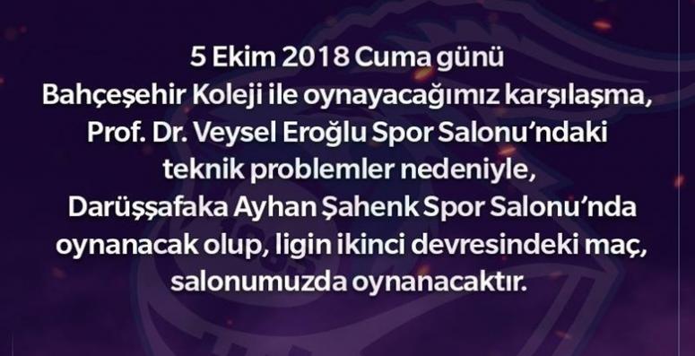 Afyon'da Spor Salonu hazır değil !!!
