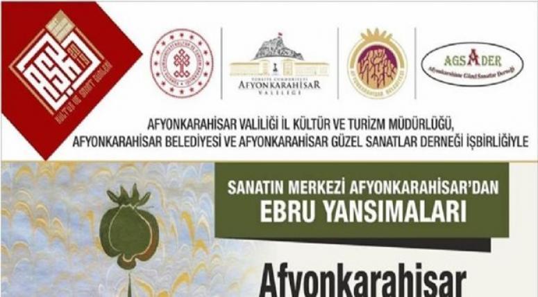 Afyon Ebru Festivali düzenlenecek