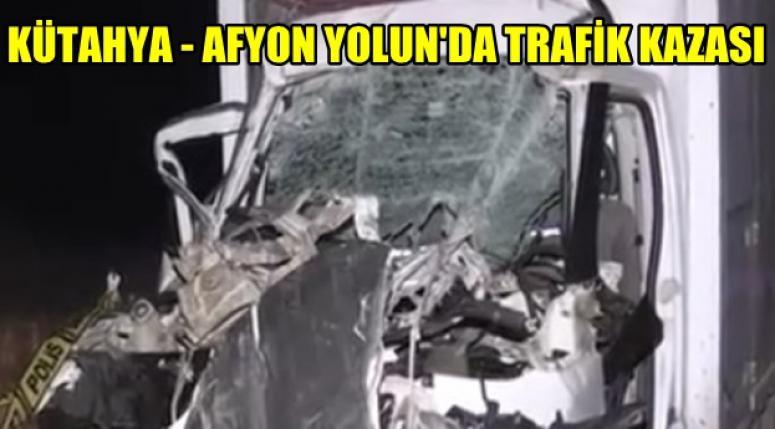 Afyon'lu Şöför Ali Çoban kazada hayatını kaybetti !!