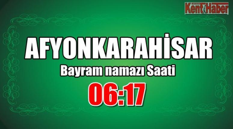 Afyon'da Ramazan Bayram namazı saat kaçta kılınacak?