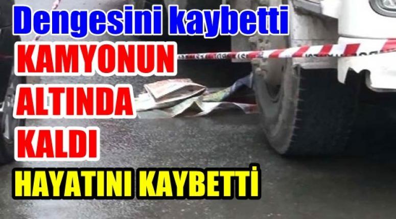 Afyonhaber - Kamyonun Altında kalan şahıs hayatını kaybetti