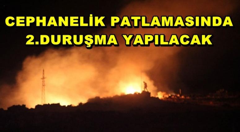 CEPHANELİK PATLAMASINDA 2.DURUŞMA YAPILACAK