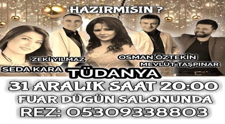 Afyon'da Yılbaşı Eğlencesi Fuar Ecehan'da yaşanacak !!!