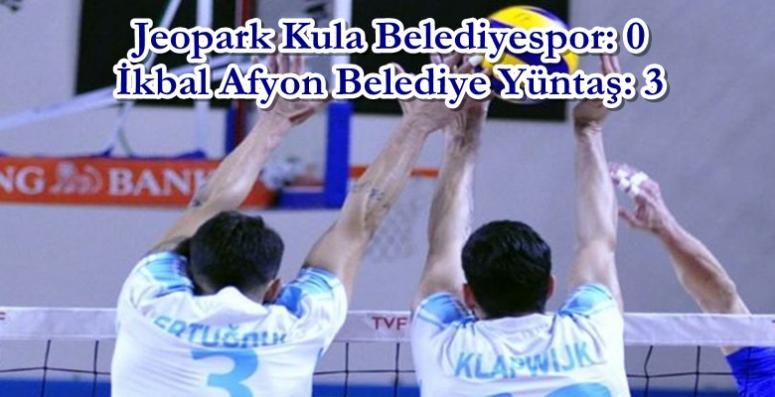 Afyon Voleybol takımımızdan harika sonuç !!