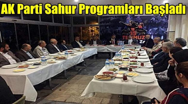 Emirdağ AK Parti Sahur Programları Başladı