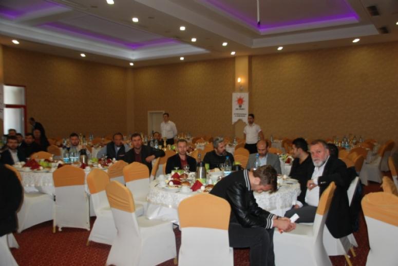 AK Parti esnaf odaları ile bir araya geldi