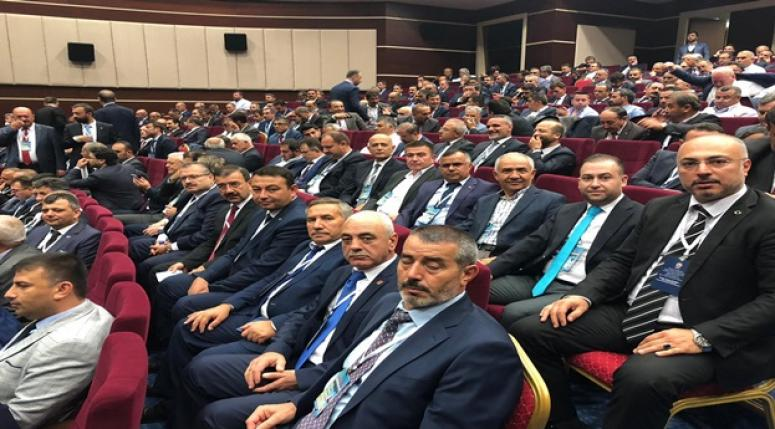 AK Parti Afyonkarahisar İlçe Başkanları yerel seçim kampında
