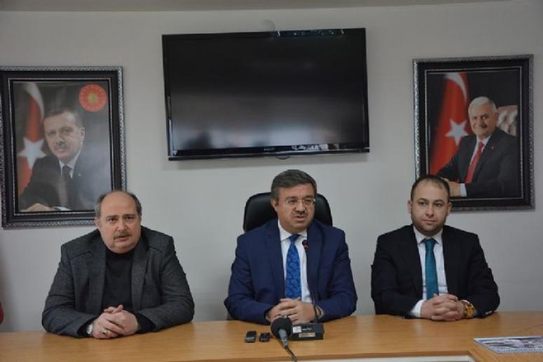 AK PARTİ'DE BASIN TOPLANTILARI DEVAM EDİYOR