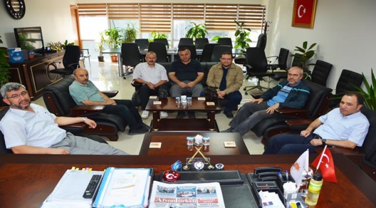 AK Parti İl Başkanı Av. Hüseyin Sezen'e hayırlı olsun ziyaretleri sürüyor