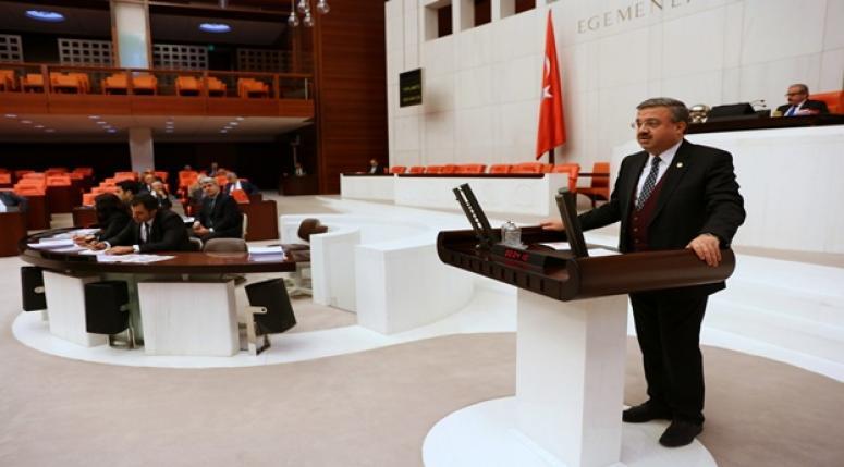 Milletvekili İbrahim Yurdunuseven, TBMM Genel kurulunda konuştu