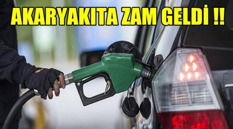 Benzine ve Mazota Zam !!