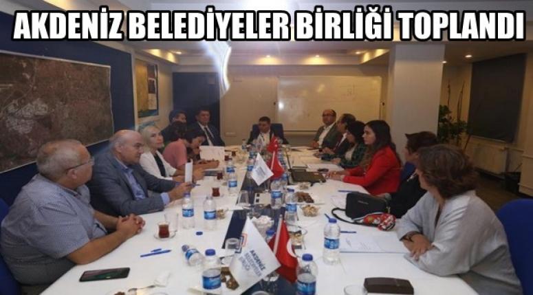 Başkan Mustafa Çöl Fuar ve Proje çalışması için Antalya'da !!