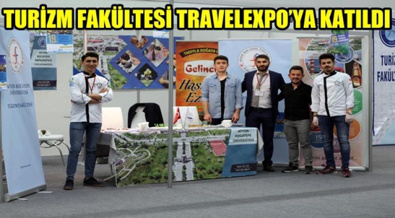 AKÜ TURİZM FAKÜLTESİ TRAVELEXPO'YA KATILDI
