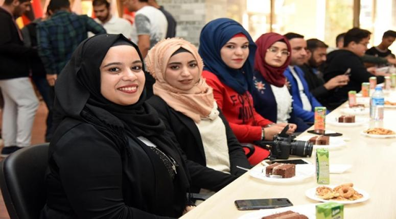 Afyon TÖMER misafir öğrenciler tanışma toplantısı gerçekleşti