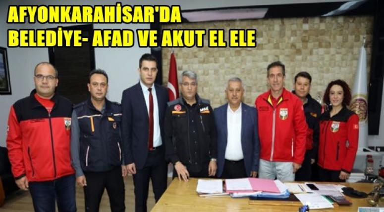 Afyonkarahisar Belediye, Akut vr Afad el ele !!