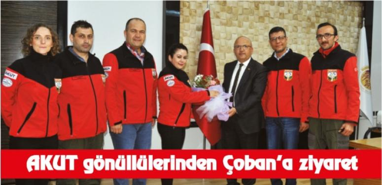 AFYON AKUT ÇOBAN'I ZİYARET ETTİ !!!