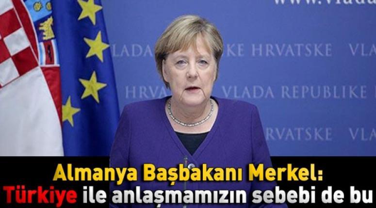Angela Merkel: Türkiye'ye ek yardımda bulunmaya da hazırım