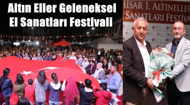 Altın Eller Geleneksel El Sanatları Festivali sona erdi !!
