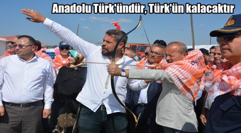 Mehmet Taytak ; Anadolu Türk'ündür, Türk'ün kalacaktır