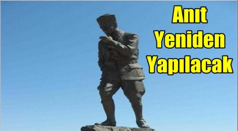 Afyon'da Anıt yeniden yapılacak !!