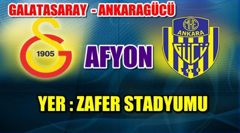 Ankaragücü maçlarını Afyon'da oynayacak !! İlk Maç Galatasaray ile oynanacak