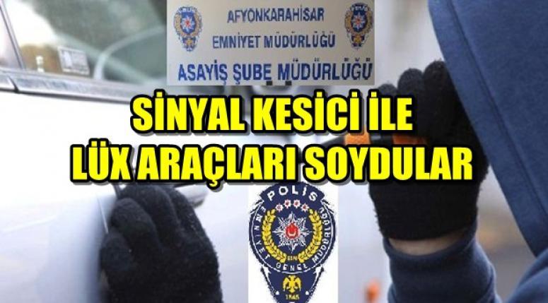 AFYON EMNİYET MÜDÜRLÜĞÜ YAKALADI !!!