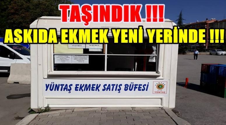 AFYON ASKIDA EKMEK YENİ ADRESİNDE !!!