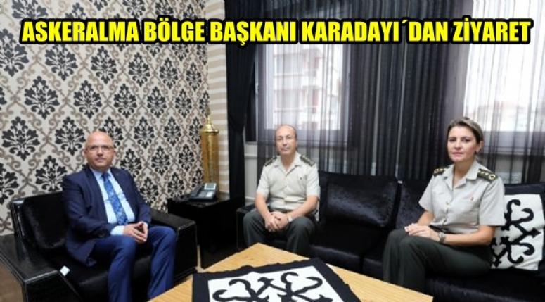 ASKERALMA BÖLGE BAŞKANI ÇOBAN'I ZİYARET ETTİ !!