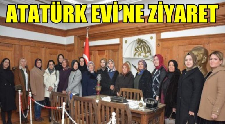 Şuhu'ta bulunan Atatürk Evi'ne eş'lerden ziyaret !1