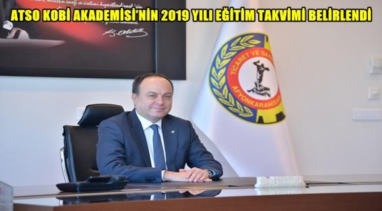 ATSO KOBİ AKADEMİSİ'NİN 2019 YILI EĞİTİM TAKVİMİ BELİRLENDİ
