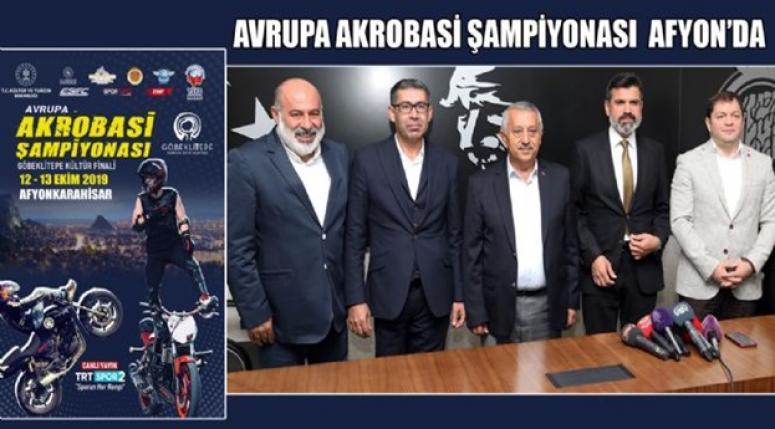 Avrupa Akrobasi Şampiyonası TRT Spor-2'den canlı yayınlanacak