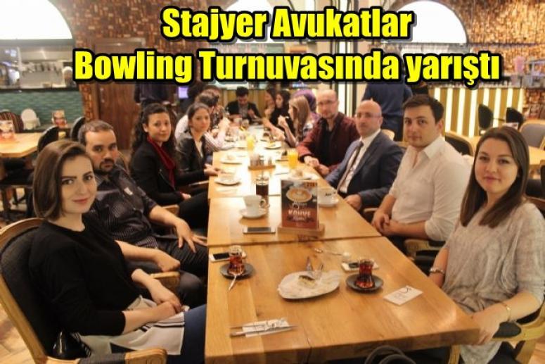 Afyon Stajyer Avukatları Bowling Turnuvasında yarıştı