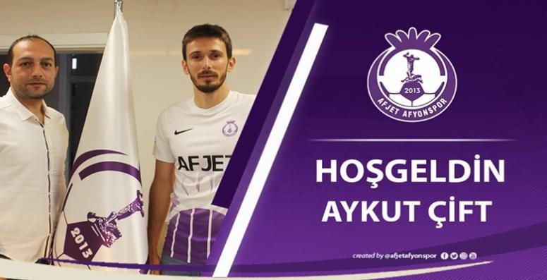 Aykut Çift Afjet Afyonspor'a Hoşgeldin !!