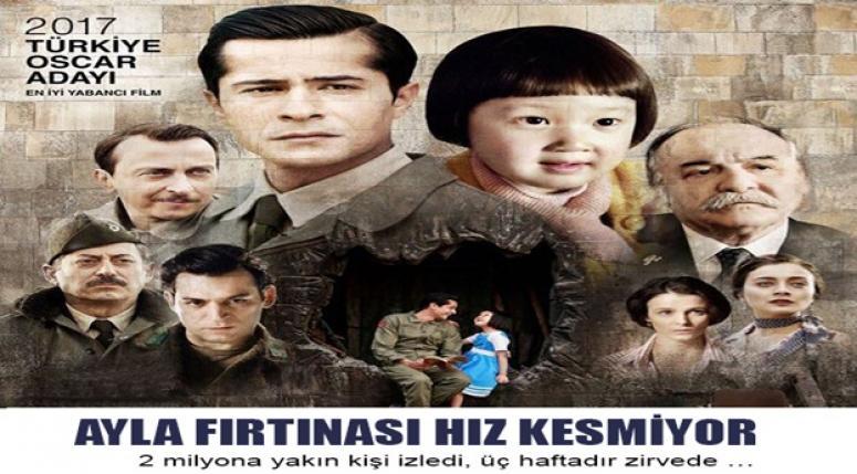 AYLA FİLMİ, SİNEMADA REKORA KOŞUYOR !!!