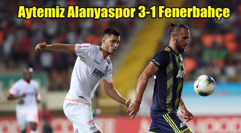 Fener ağır yaralı !! Aytemiz Alanyaspor 3-1 Fenerbahçe