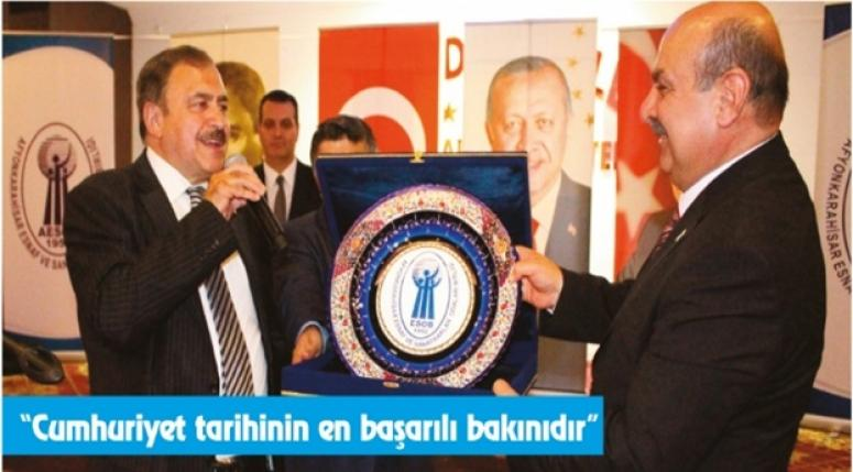 """""""Bakan Eroğlu'nun 10 yılda yaptıkları 100 yıla bedeldir"""""""