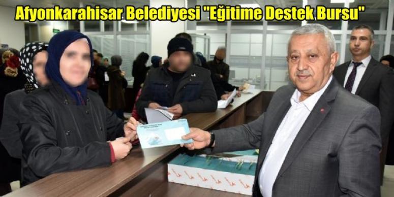 """Afyonkarahisar Belediyesi """"Eğitime Destek Bursu"""""""