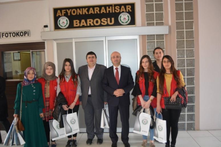 Afyonkarahisar Gençlik Hizmetlerinden Turgay Şahin'e ziyaret