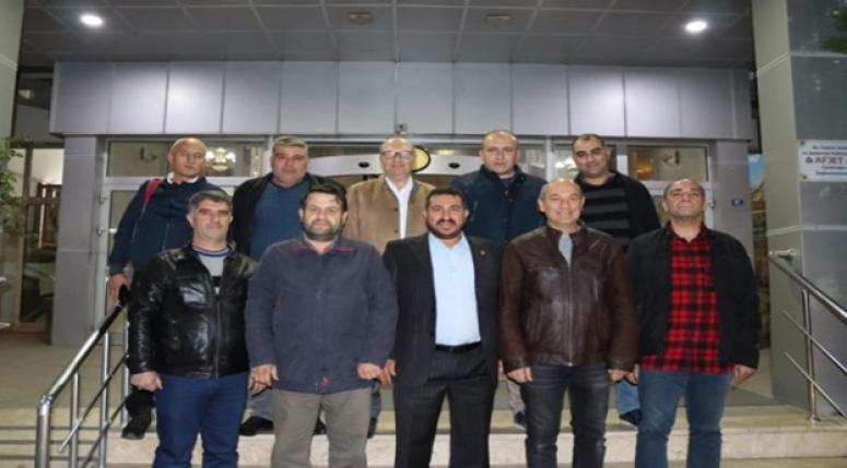 Afyon Ülkem Partisi teşkilatı İnternet Medya Birliği ile buluştu !!