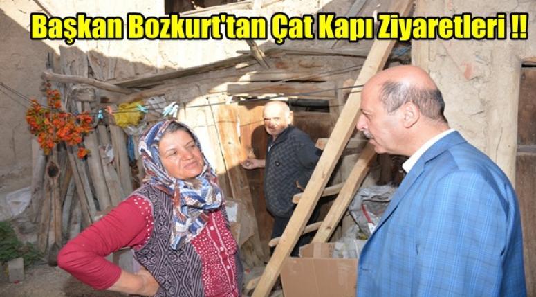 Başkan Recap Bozkurt'tan Çat Kapı Ziyaretleri !!