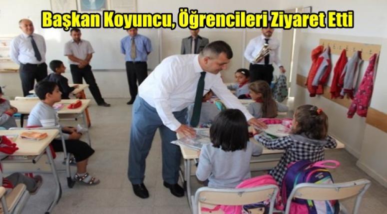 Başkan Koyuncu, Öğrencileri Ziyaret Etti