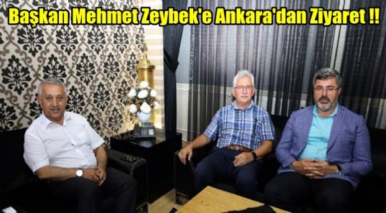 Başkan Mehmet Zeybek'e Ankara'dan Ziyaret !!