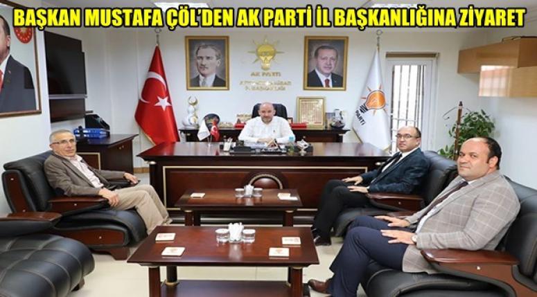 Sandıklı Belediye Başkanı, Ak Partiyi ziyaret etti !!