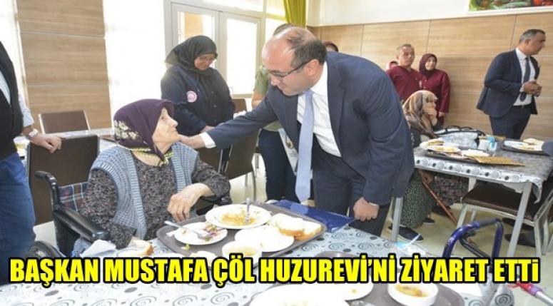Mustafa Çöl, yaşlıları unutmadı, ziyaret etti !!