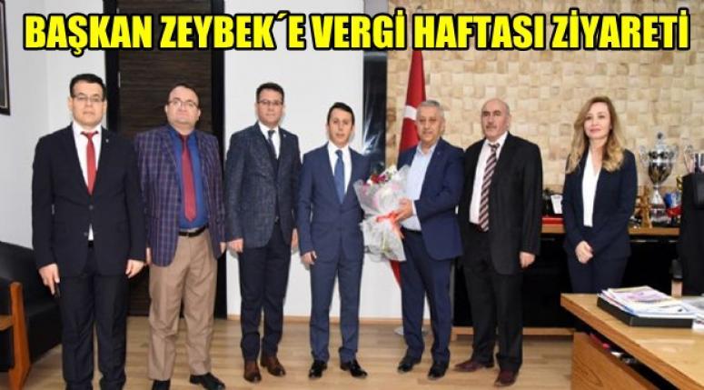 Mehmet Zeybek'e Vergi haftası ziyareti