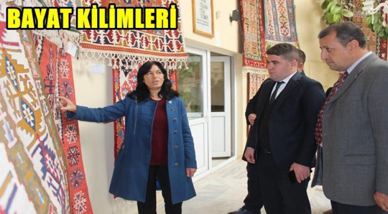 BAYAT KİLİMLERİ, KİLİM ATÖLYESİNİ ZİYARET !!