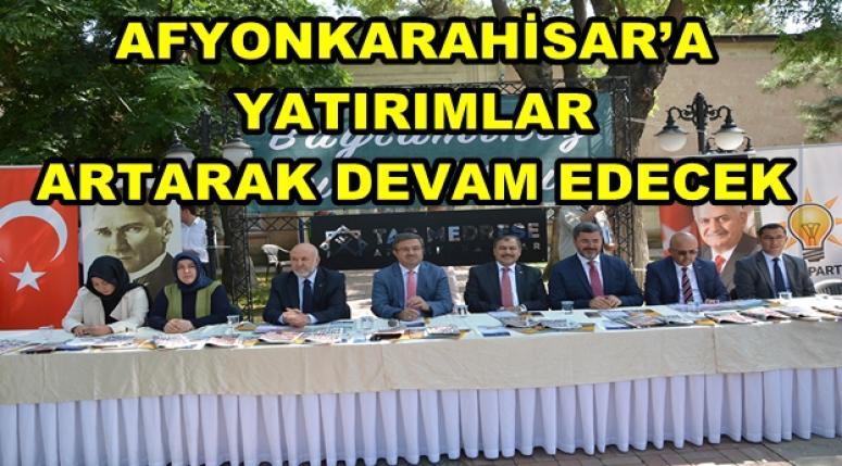 AFYON AK PARTİ BAYRAMLAŞTI !!!