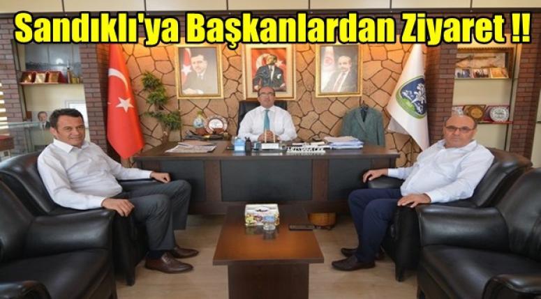 Sandıklı'yı Belediye Başkanları ziyaret etti !!