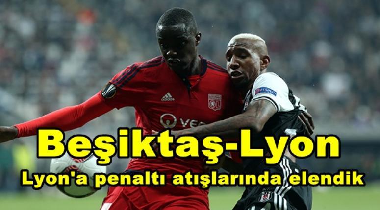 Lyon'a penaltı atışlarında elendik !!!